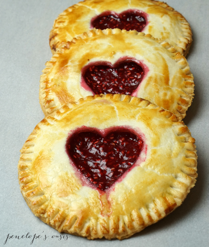 homemade raspberry hand pies-3