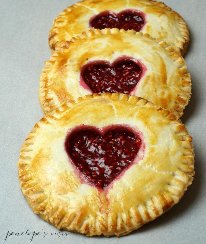 homemade raspberry hand pies-3