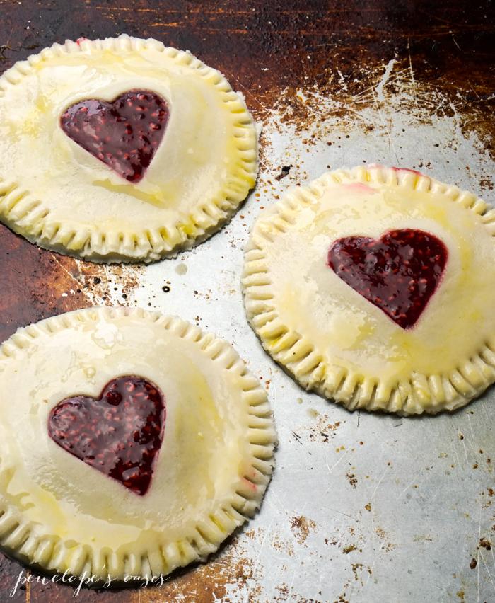 homemade raspberry hand pies-4