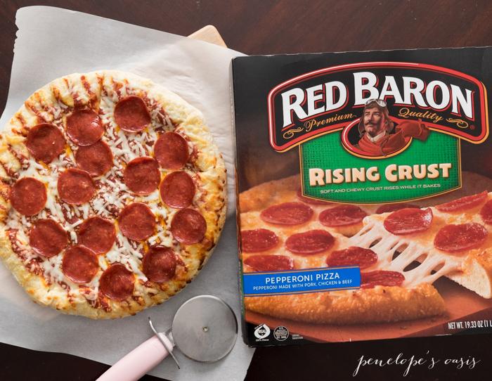 red paron pizza