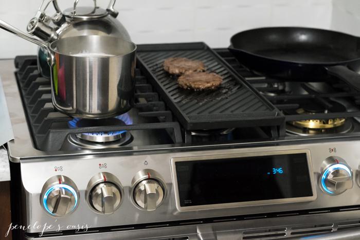 Samsung flex duo dual door range oven-2