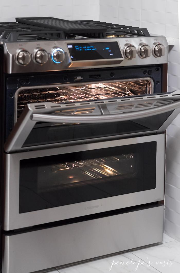 Samsung flex duo dual door range oven-5