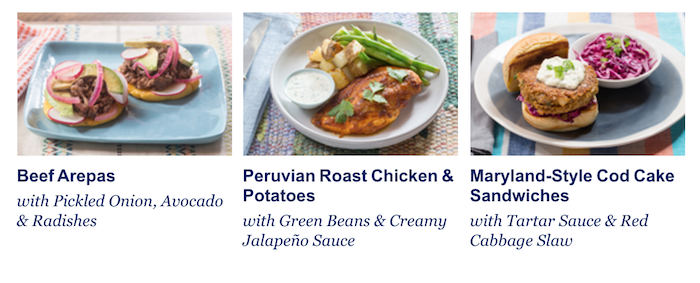 blue apron 2 person menu plan