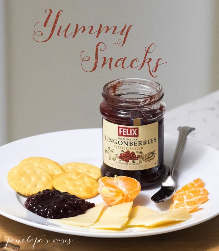 Felix Lingonberry Jam snacks