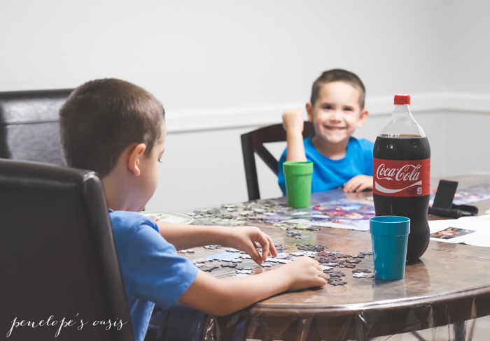 coca cola playdate