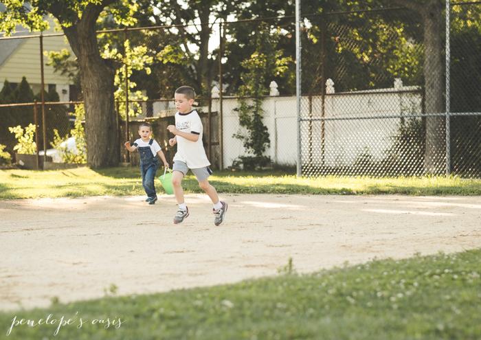 running around baseball diamong-12