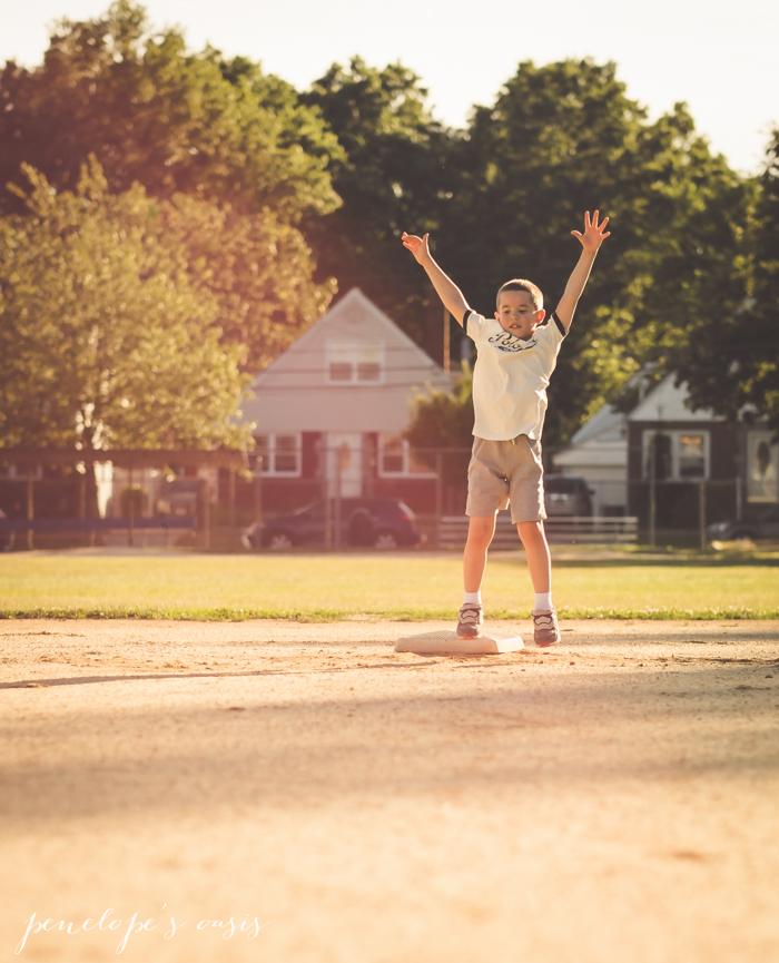 running around baseball diamong-9