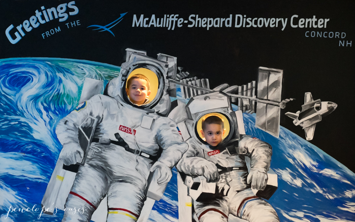 New Hampshire MaAuliffe-Shepard Discovery Center Concord