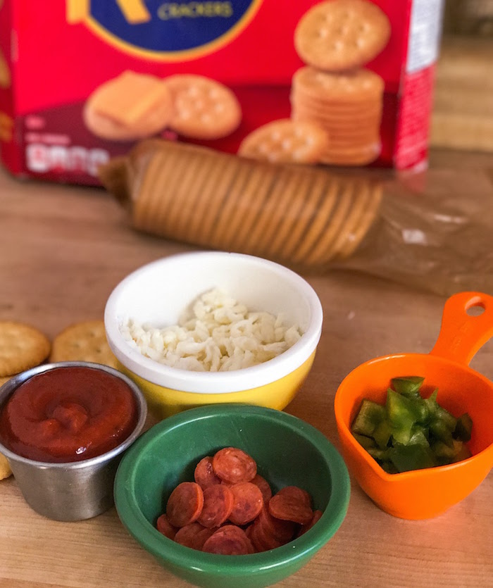 Ritz Pizza Bite Ingredients