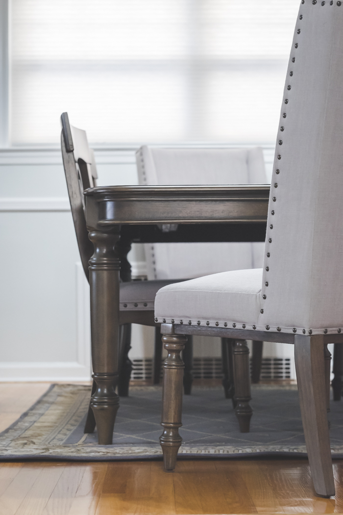 My Sons Fight Over The Completely Upholstered Dining Chairs. They Are More  Like Family Room Accent Chairs Because They Are So Pretty And Richly  Padded, ...