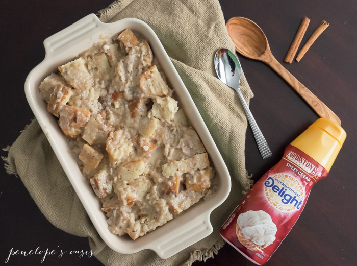Sweet Cream Bread Pudding