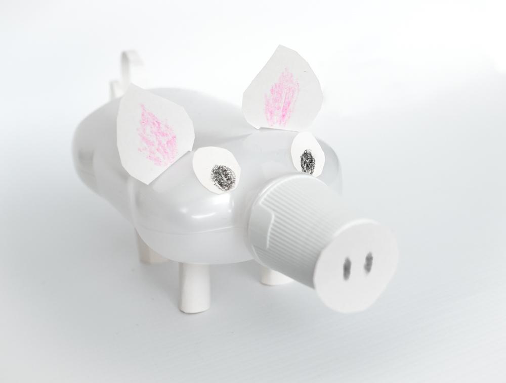 doy homemade piggy bank craft