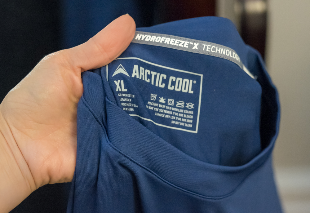 arctic cool crewneck shirt