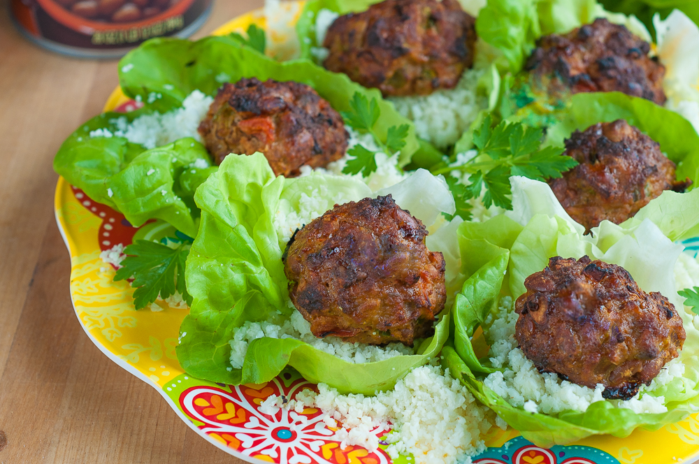 Turkey and Baked Bean Meatballs