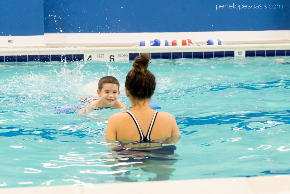 Swimming Lessons safety swim