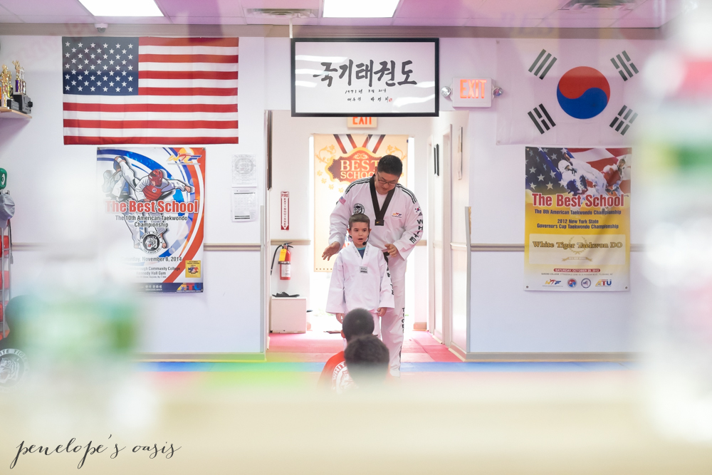 Tae Kwon Do white belt