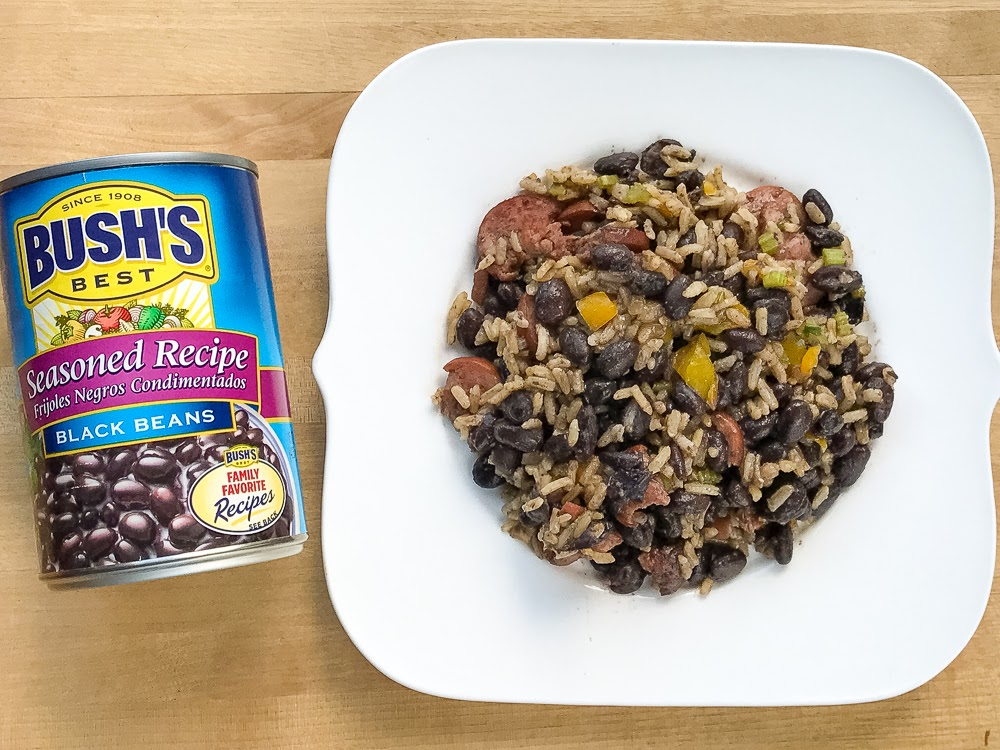 Hit Favorites School Days: One Pot Dirty Rice And Beans With Smoked Sausage Recipe