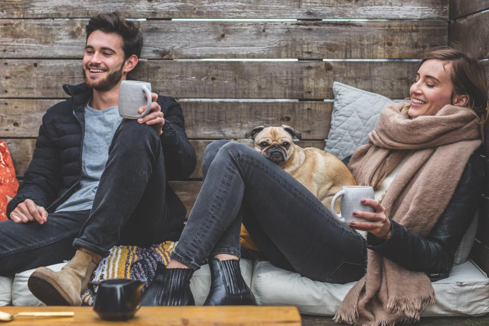 couple relaxes together prioritize each other