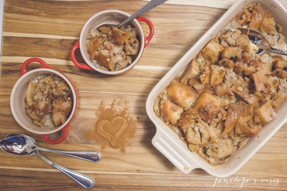 Easy Cinnamon Bread Pudding With Kids