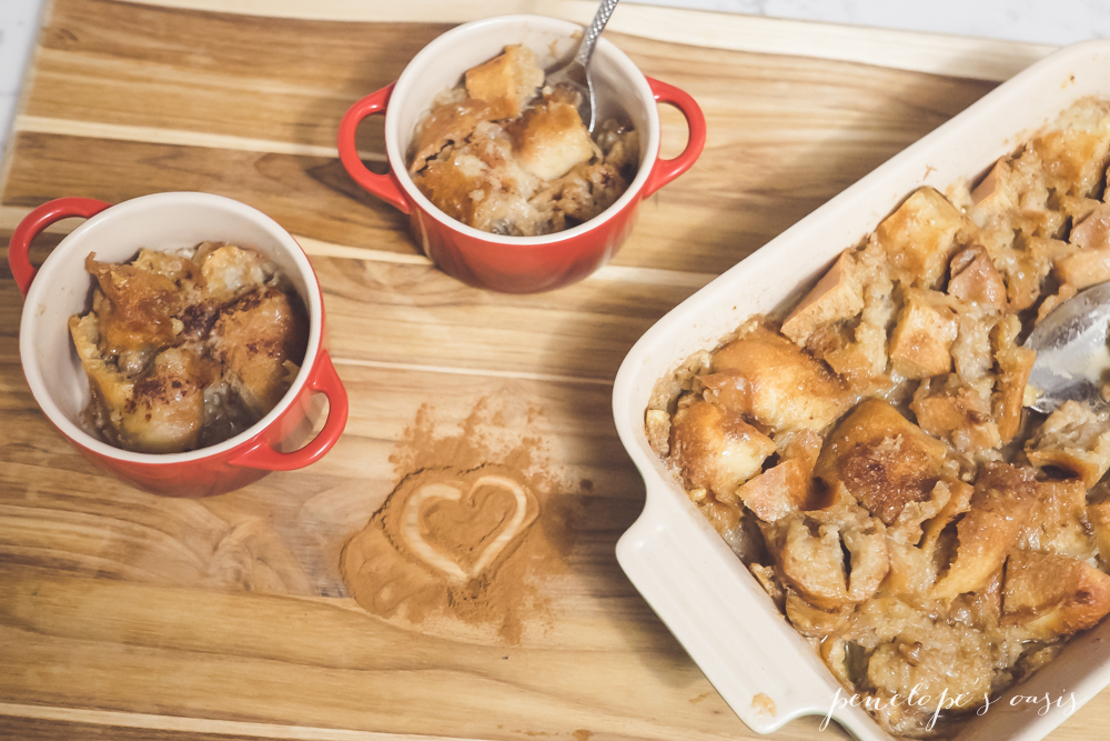 Cinnamon Bread Pudding With Kids