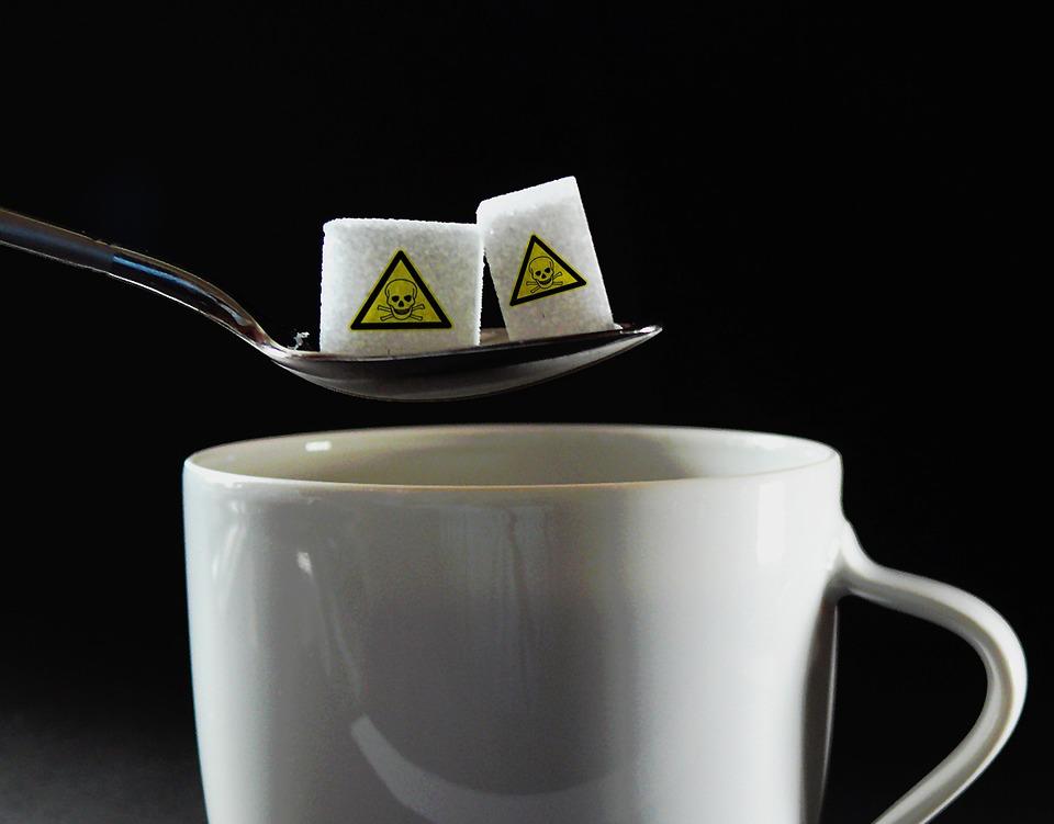 Resultado de imagem para sugar in coffee is bad