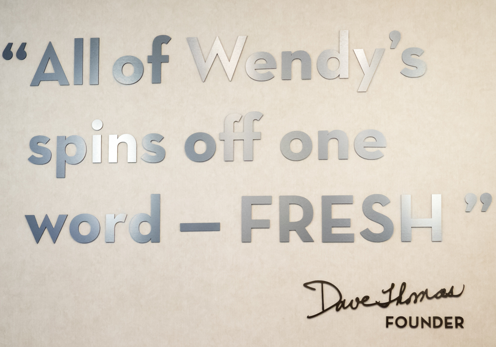 wendys fresh fast food