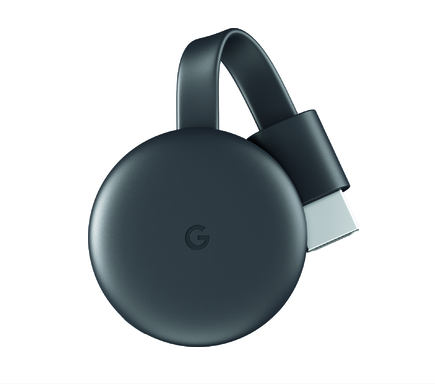 Google Chromecast Streaming information